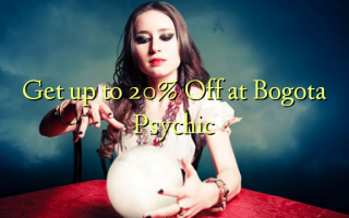 Få op til 20% Off ved Bogota Psychic