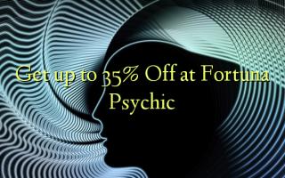 Få op til 35% Off ved Fortuna Psychic