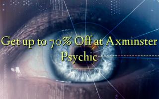 Få op til 70% Off ved Axminster Psychic