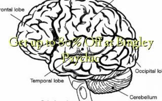 Få op til 80% Off på Bingley Psychic