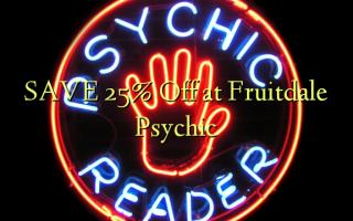 Gem 25% Off på Fruitdale Psychic