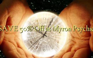 Gem 50% Off ved Myron Psychic
