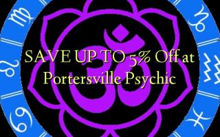 SPAR OP TIL 5% Off ved Portersville Psychic