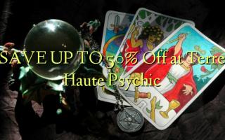SPAR OP TIL 50% Off på Terre Haute Psychic