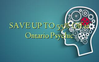 SPAR OP TIL 55% Off på Ontario Psychic