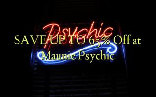 SPAR OP TIL 65% Off ved Maunie Psychic