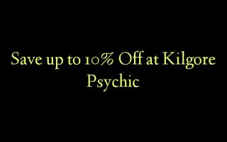 Gem op til 10% Off ved Kilgore Psychic