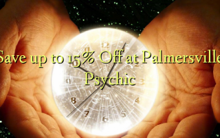 Spar op til 15% Off ved Palmersville Psychic