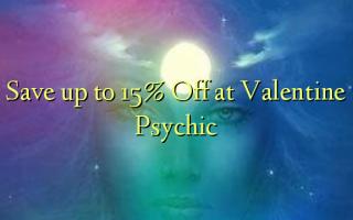 Spar op til 15% Off ved Valentine Psychic