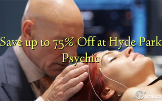 Save up to 75% Off at Hyde Park Psychic