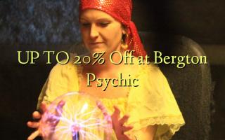 OP TIL 20% Off på Bergton Psychic