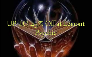 OP TIL 45% Off ved Lemont Psychic