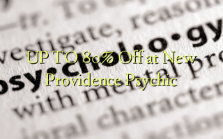 UP TO 80% Off at New Providence Psychic