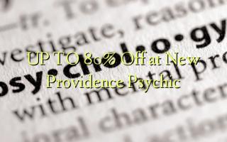 UP TO 80% Kutoka kwenye New Providence Psychic