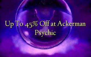 Op til 45% Off ved Ackerman Psychic