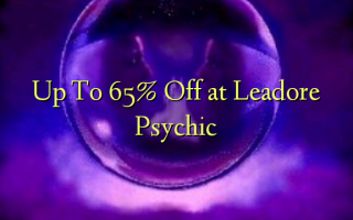 Op til 65% Off på Leadore Psychic