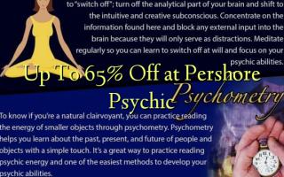 Op til 65% Off på Pershore Psychic