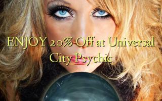 Furahia 20% Toka kwenye Universal City Psychic