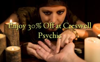 Furahia 30% Toka kwenye Creswell Psychic