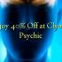 Enjoy 40% Off at Clyman Psychic
