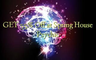 Pata 55% Toka kwenye Kituo cha Spring House Psychic