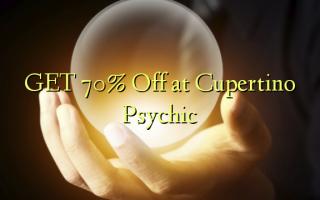 Pata 70% Omba kwenye Cupertino Psychic