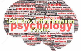 በ Haughton Psychic ላይ GET 80% ቅናሽ ያግኙ