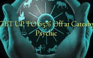 Catesby Psychic በመደበኛነት ወደ 65% ቅናሽ ያድርጉ