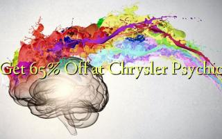 Pata 65% Fungua kwenye Chrysler Psychic
