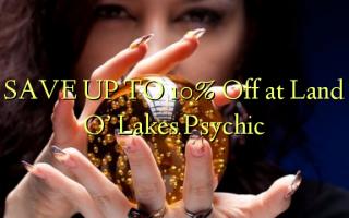 SAVE UP TO 10% Toka kwenye Nchi ya 'O' Lakes Psychic