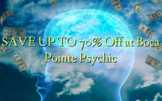 SAVE UP TO 70% Omba kwenye Boca Pointe Psychic