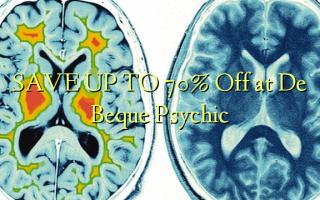 SAVE UP TO 70% Off katika De Beque Psychic