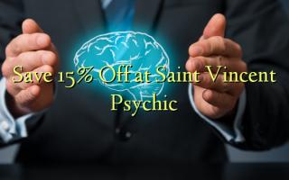 በ Saint Vincent Psychic ላይ 15% ቅናሽ አስቀምጥ