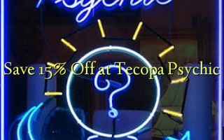 Save 15% Off i le Tecopa Psychic