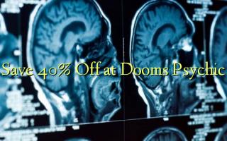 Gem 40% Off på Dooms Psychic