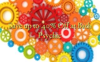 Spar op til 40% Off ved Bath Psychic