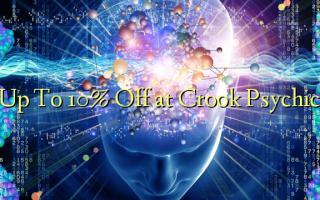 Op til 10% Off ved Crook Psychic