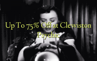 Hadi kwa 75% Toka kwenye Clewiston Psychic