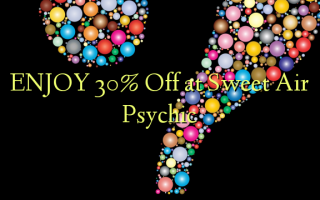 Nyd 30% Off på Sweet Air Psychic