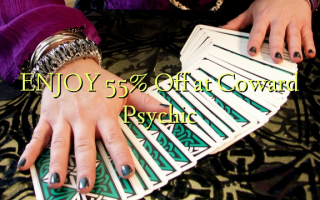 ENJOY 55% Off at Coward Psychic