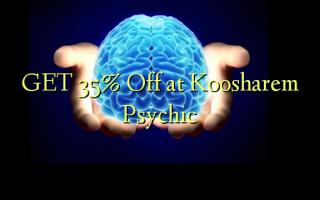 GET 35% Off på Koosharem Psychic
