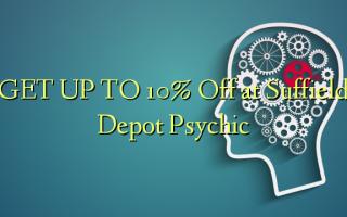 Pata hadi 10% Toka kwenye Suffield Depot Psychic