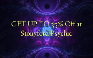FÅ OP TIL 35% Off ved Stonyford Psychic