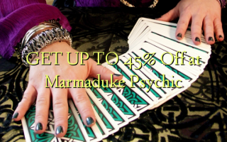 GET UP TO 45% Off at Marmaduke Psychic
