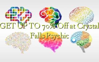Pata hadi 70% Toka kwenye Crystal Falls Psychic