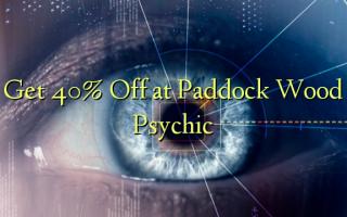 Получите скидку 40 на Paddock Wood Psychic