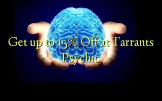 Få op til 15% Off ved Tarrants Psychic