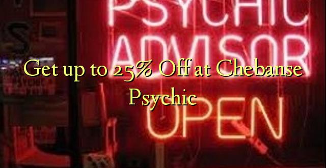 Pata hadi 25% Toka kwenye Chebanse Psychic