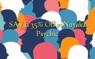 Gem 35% Off ved Nuyaka Psychic