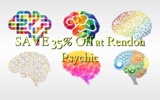 Gem 35% Off ved Rendon Psychic